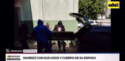 Mujer logra ingresar al país con el cadáver de su marido luego de varias semanas
