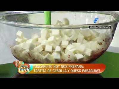 ¿Queres preparar unas tartitas de cebolla y queso Paraguay?