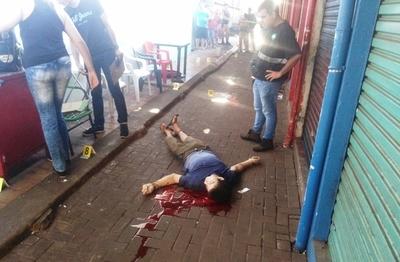 MATAN  balazos  a PARAGUAYO cerca del Puente de la Amistad en BRASIL