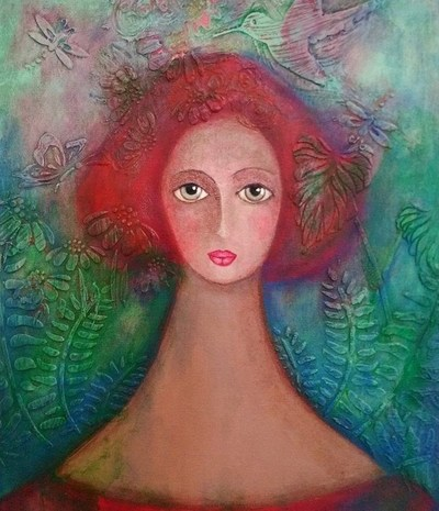 Los «Universos» De Ofelia Fisman Llegan a la Galería Virtual