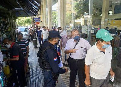 El fisco prosigue con pago de salarios a funcionarios
