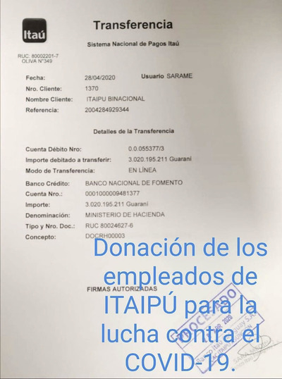 En Itaipu ocultan información sobre millonaria donación