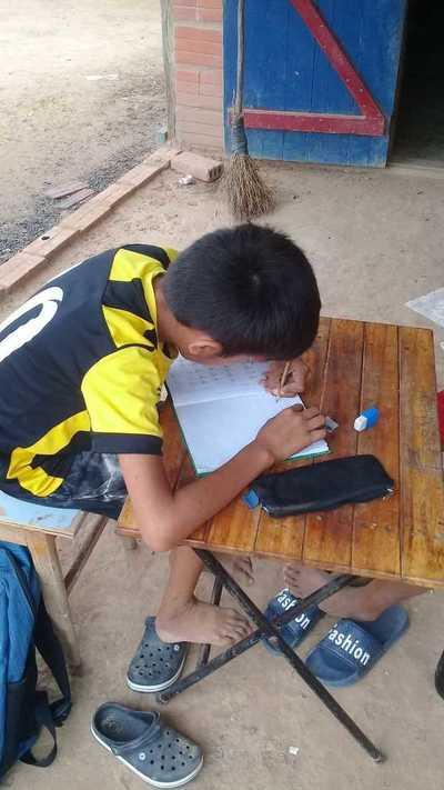 Alto Paraguay: El MEC busca soluciones para que los chicos no pierdan el año lectivo
