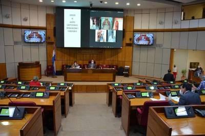 Ternados a la Corte se reúnen con comisiones del Senado