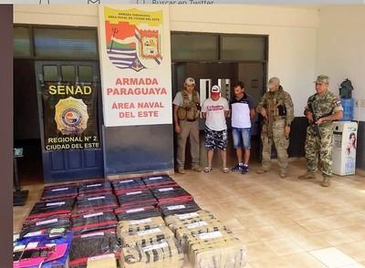 INEDITO: decomisan marihuana en la cabecera paraguaya del Puente de la Amistad