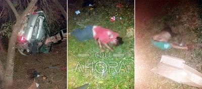 Dos muertos en un accidente de tránsito
