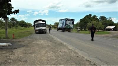 Continúan los controles policiales por cuarentena en el Puesto Policial de Rio Verde