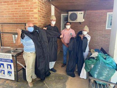 Villa Choferes: El HMI recibió equipos de bioseguridad y proyecta obras ante eventual epidemia en invierno