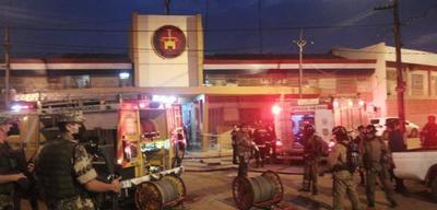 Contralan principio de incendio en Tacumbú