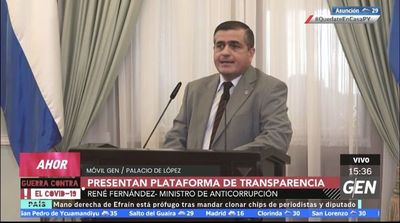 """""""El sistema funciona"""", según Anticorrupción, pese a irregularidades en licitaciones"""