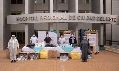 STEIBI dona insumos de salud y bioseguridad al IPS-Alto Paraná – Diario TNPRESS