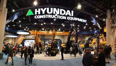 Hyundai Construction Equipment presentó lo último en maquinarias y tecnología