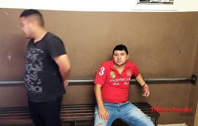 Detienen a dos TORTOLEROS PARAGUAYOS en Foz