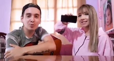 Marilina Bogado y Will realizaron su primera serenata online