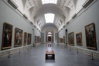 49 días de oscuridad en el Prado