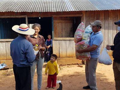 ARP donó toneladas de carne y kits de alimentos