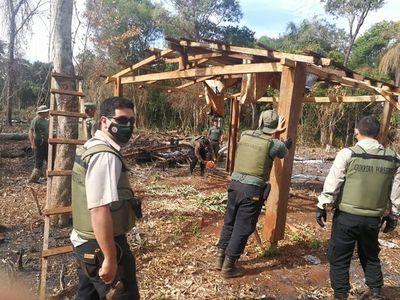 Recuperan área invadida en zona de Puerto Indio, en Alto Paraná