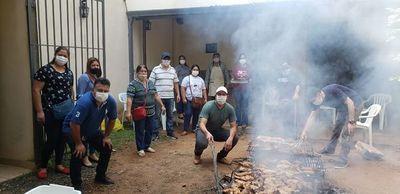 Santa Rosa; festejo solidario de la AEREBA