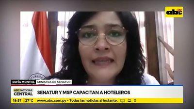 Senatur y MSP capacitan a hoteleros