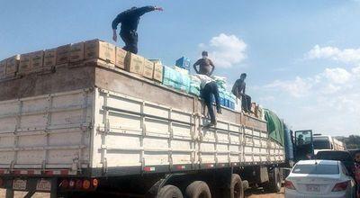 Confiscan cargamentos de aparente contrabando