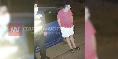 Misionero supuestamente atropelló barrera sanitaria en Itapúa y fue detenido