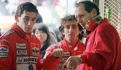 """""""Uno de nuestros rivales más grandes"""", el homenaje de Ferrari a Ayrton Senna"""