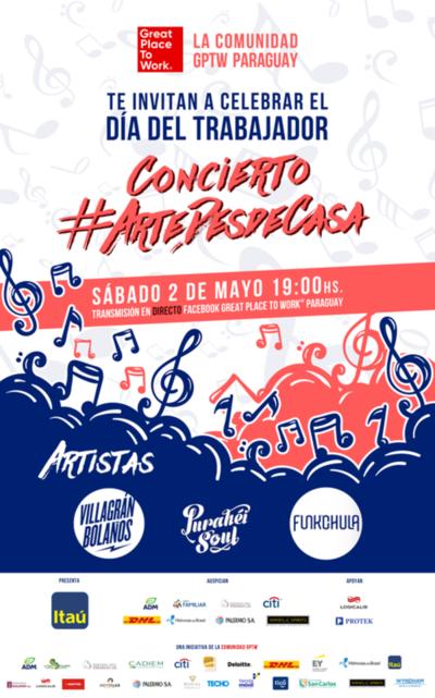 Música en directo: Artistas nacionales en concierto organizado por Great Place to Work®