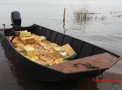 Cae 1.000 kilos de marihuana en el Lago de ITAIPU