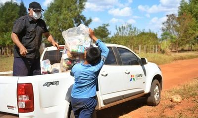 Itaipú distribuyó más de 300 mil kilos de alimentos en Alto Paraná