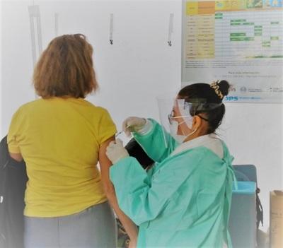Vacunación contra influenza ya llegó al 66% de cobertura