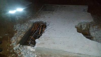 HOY / Caso Juliette: investigadores perforan otra capa de cemento buscando a la niña