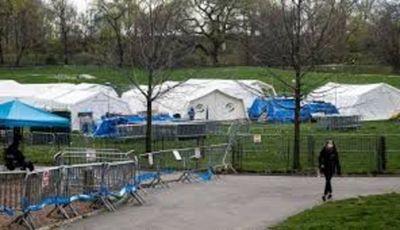 Hospital del Central Park cerrará ante caída en los casos de covid-19 en Nueva York