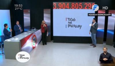 """HOY / Critican 'incoherente' maratón televisiva solidaria impulsada por Vierci: """"¿Otra vez nuestros bolsillos?"""""""