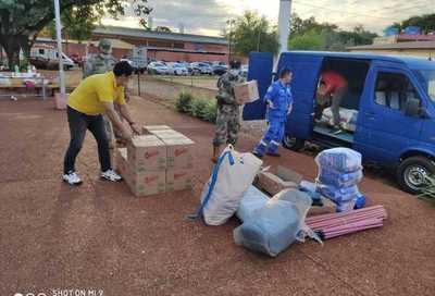 CDE: Atención Prehospitalaria Covid recibe pacientes tras donación de equipamientos