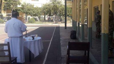 Compatriotas en cuarentena recibieron apoyo espiritual