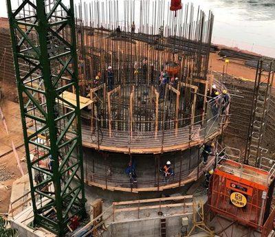 Segundo puente entre Paraguay y Brasil «avanza bien» a casi un año del inicio de obras