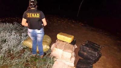 Cae media tonelada de hierva lista para ser enviada al Brasil