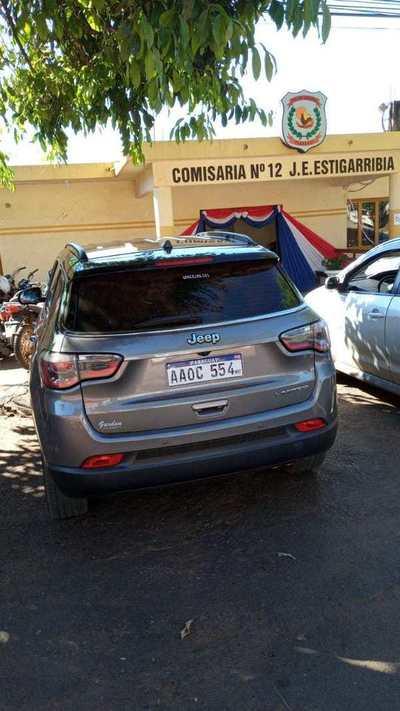 Policias incautan otro vehículo de procedencia dudosa