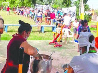 La 79 se lució con la gente de Ypané