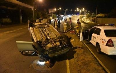 HOY / Militar muere en accidente sobre Autopista Ñu Guasu