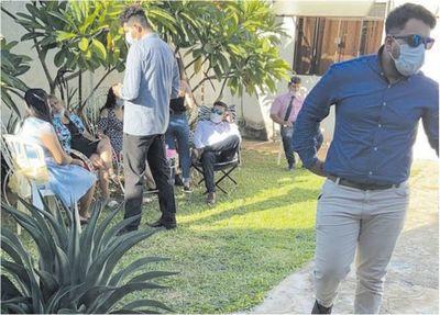 """Boda en Luque: """"Ordenamos detención en base a la flagrancia"""""""