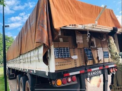 """Frontera está """"ABIERTA"""" para contrabando de CIGARRILLO, y CERRADA para comercio LEGAL"""