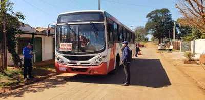 Transporte público se reactiva desde este lunes en Alto Paraná