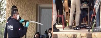 Armas, municiones, hasta una katana: Esto encontraron en casa de Juliette