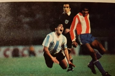 HOY / Maradona no pudo con Paraguay