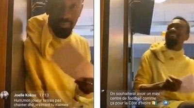 Futbolista se burla de los protocolos sanitarios