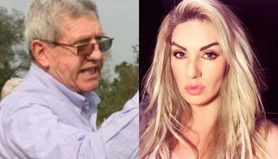 Lilian Ruíz difunde foto íntima de Schupp y lo destroza