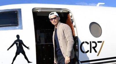 Cristiano Ronaldo vuelve a Italia tras casi dos meses en Portugal