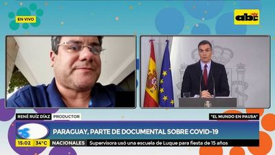 """Paraguay será parte de documental sobre COVID-19 """"El mundo en pausa"""""""