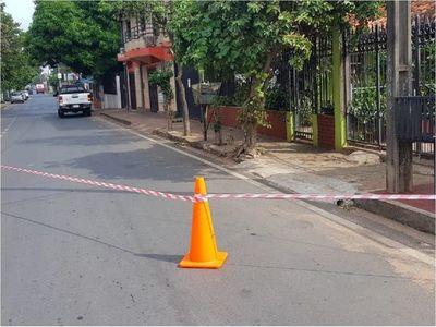 Niña murió atropellada por un ómnibus en San Lorenzo